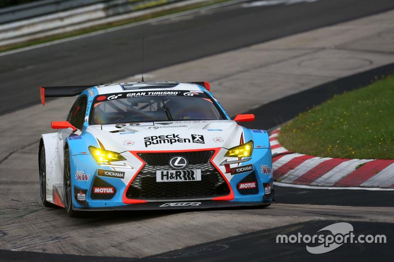 #55 Farnbacher Racing Lexus RC-F GT3: Dominik Farnbacher, Маріо Фамбахер