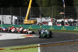 Carrera 2 Inicio: Alex Fontana, estado cables de Grand Prix