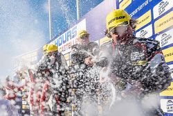GTC podium: champagne for all