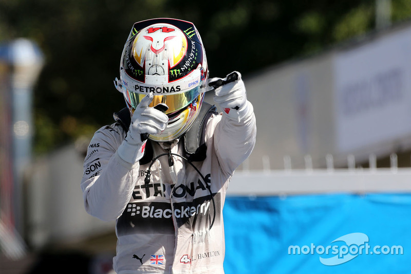 2015: Lewis Hamilton, Mercedes