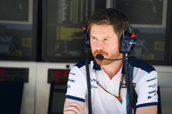 Роб Смедли, глава производительности машин Williams