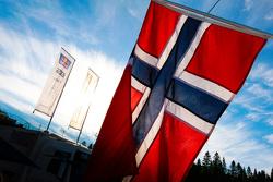 Le drapeau norvégien