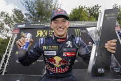 Le vainqueur Timmy Hansen, Team Peugeot-Hansen