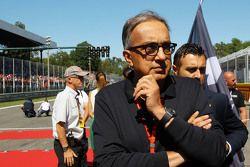 Sergio Marchionne, Ferrari President e CEO da Fiat Chrysler Automobiles
