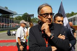 Серджио Марчионне, президент Ferrari и генеральный директор Fiat Chrysler Automobiles