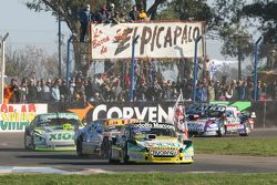 Omar Martinez, Martinez Competicion Ford y Sergio Alaux, Coiro Dole Racing Chevrolet y Agustin Canap
