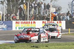 Matias Rossi, Donto Racing Chevrolet and Norberto Fontana, Laboritto Jrs Torino and Camilo Echevarri