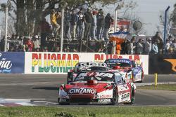 Matias Rossi, Donto Racing Chevrolet and Norberto Fontana, Laboritto Jrs Torino and Christian Ledesm