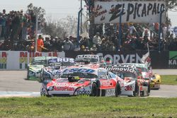 Guillermo Ortelli, JP Racing Chevrolet y Mariano Werner, Werner Competicion Ford