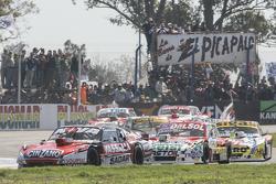 Matias Rossi, Donto Racing Chevrolet and Juan Pablo Gianini, JPG Racing Ford and Mauricio Lambiris,
