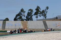 Dorian Boccolacci, Signature Dallara Volkswagen; Santino Ferrucci, Mücke Motorsport Dallara Mercedes-Benz