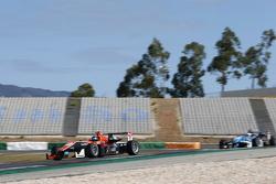 Julio Moreno, ThreeBond with T-Sport Dallara NBE et Raoul Hyman, Team West-Tec F3 Dallara Mercedes-Benz