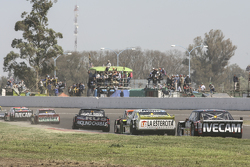 Norberto Fontana, Laboritto Jrs Torino e Agustin Canapino, Jet Racing Chevrolet e Emanuel Moriatis,