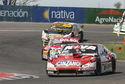 Matias Rossi, Donto Racing Chevrolet and Juan Pablo Gianini, JPG Racing Ford and Leonel Pernia, Las