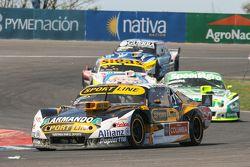 Leonel Pernia, Las Toscas Racing Chevrolet e Agustin Canapino, Jet Racing Chevrolet e Mauricio Lambi