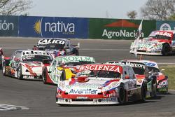 Matias Jalaf, Catalan Magni Motorsport Ford e Omar Martinez, Martinez Competicion Ford e Guillermo O