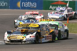 Leonel Pernia, Las Toscas Racing Chevrolet and Agustin Canapino, Jet Racing Chevrolet and Josito di