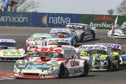 Carlos Okulovich, Sprint Racing Torino and Mauro Giallombardo, Maquin Parts Racing Ford and Laureano