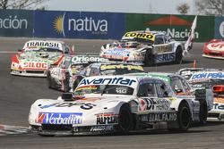 Leonel Sotro, Alifraco Sport Ford and Facundo Ardusso, Trotta Competicion Dodge and Mariano Altuna, Altuna Competicion Chevrolet and Martin Serrano, Coiro Dole Racing Dodge