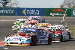 Christian Ledesma, Jet Racing Chevrolet e Juan Martin Trucco, JMT Motorsport Dodge e Carlos Okulovic