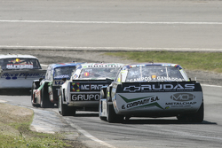 Martin Ponte, Nero53 Racing Dodge and Facundo Ardusso, Trotta Competicion Dodge and Leonel Sotro, Alifraco Sport Ford