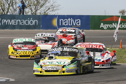 Matias Rossi, Donto Racing Chevrolet e Matias Jalaf, Catalan Magni Motorsport Ford e Nicolas Bonelli
