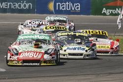 Facundo Ardusso, Trotta Competicion Dodge e Diego de Carlo, JC Competicion Chevrolet e Juan Manuel S