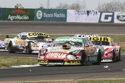 Facundo Ardusso, Trotta Competicion Dodge and Juan Manuel Silva, Catalan Magni Motorsport Ford