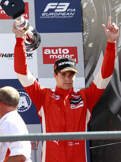 Race 3 third place Lance Stroll, Prema Powerteam