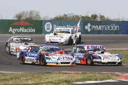 Christian Ledesma, Jet Racing Chevrolet and Jose Savino, Savino Sport Ford and Laureano Campanera, D