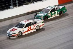 Brad Keselowski, Team Penske Ford et Mike Bliss, Chevrolet
