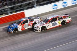 Landon Cassill, Hillman Circle Sport LLC Chevrolet et Austin Dillon, Richard Childress Racing Chevrolet