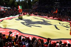 Giant Ferrari flag