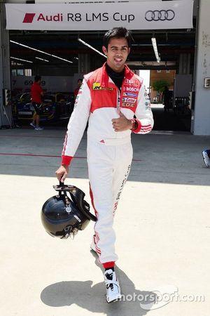 Aditya Patel, Audi R8 LMS Kupası