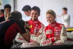 Aditya Patel, Audi R8 LMS Kupası ile Rahel Frey, Castrol Yarış Takımı