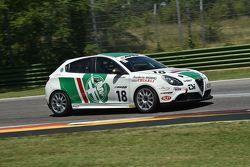 Gianni Giudici, Scuderia Giudici, Alfa Romeo Giulietta #18