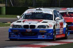 Paolo Meloni e Massimiliano Tresoldi su BMW M3 E46 #1, W & D Racing Team