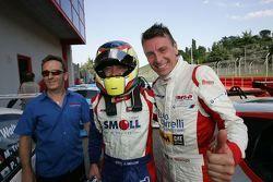 Paolo Meloni e Massimiliano Tresoldi, BMW M3 E46 #1, W & D Racing Team