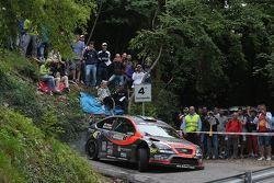 Elwis Chentre e Isabella Gualtieri su Ford Focus Rs WRC #1