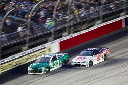 Mike Bliss and Kurt Busch, Stewart-Haas Racing Chevrolet