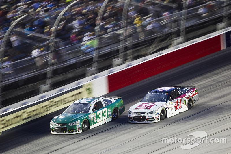 Mike Bliss and Kurt Busch, Stewart-Haas Racing Chevrolet