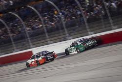 Denny Hamlin, Joe Gibbs Racing Toyota and Mike Bliss