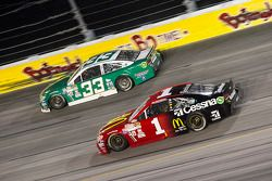 Mike Bliss, Chevrolet and Jamie McMurray, Chip Ganassi Racing Chevrolet