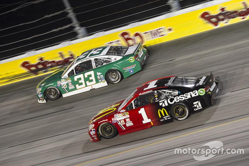 Mike Bliss, Chevrolet ve Jamie McMurray, Chip Ganassi Racing Chevrolet
