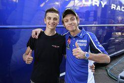 Luca Marini y Valentino Rossi