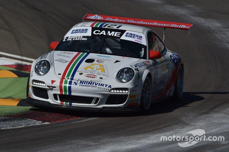 Porsche GT Cup #121, Giuseppe Bodega, Sabino De Castro, Drive Technology Italia