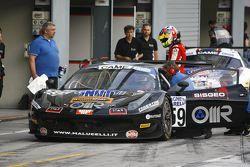 Ferrari 458 Italia-GT3 #59, Lorenzo Bontempelli, Stefano Gai, Team Malucelli