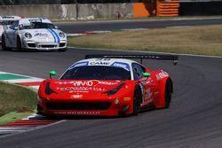 Ferrari 458 Italia-GT3 #58, Marco Galassi, Giosuè Rizzutto, Team Malucelli