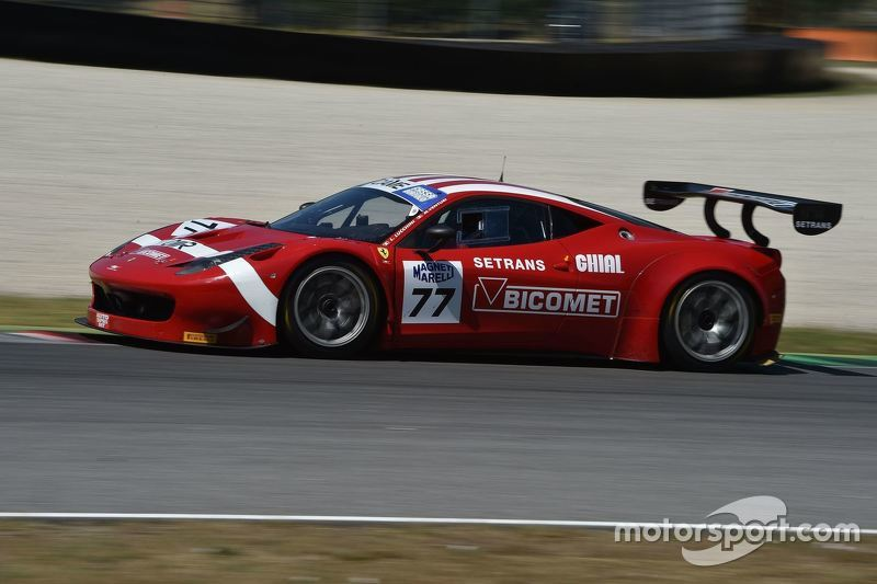 Ferrari 458 GT3 #77, Luigi Lucchini, BMS Scuderia Italia