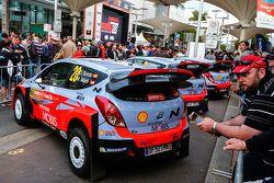 Daniel Sordo e Marc Marti, Hyundai i20 WRC, Hyundai Motorsport